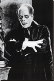 Phantom of the Opera Movie (Lon Chaney) Poster Print Sträckt Canvastryck