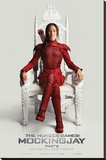 The Hunger Games- Mockingjay Part 2 Throne Stretched Canvas Print