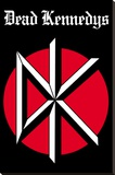 Dead Kennedys - Logo Music Poster Stretched Canvas Print