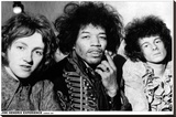 Jimi Hendrix Experience – London 1967 Stretched Canvas Print