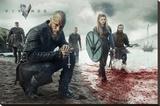 Vikings Blood Landscape - Şasili Gerilmiş Tuvale Reprodüksiyon