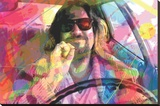 David Glover- The Dude Stretched Canvas Print by David Glover