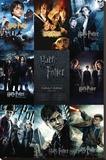 Harry Potter-samlingen Lærredstryk på blindramme