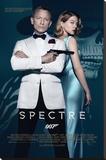 James Bond- Spectre One Sheet Reproduction sur toile tendue