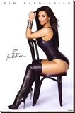 Kim Kardashian Chair Stretched Canvas Print