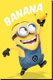 Despicable Me - Banana Lærredstryk på blindramme