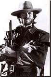 Clint Eastwood - Şasili Gerilmiş Tuvale Reprodüksiyon
