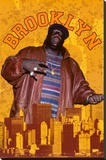 Notorious BIG - Brooklyn Stretched Canvas Print