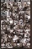 50 Shades of Bettie Page Stretched Canvas Print