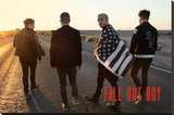 Fall Out Boy- Desert Walk Stretched Canvas Print