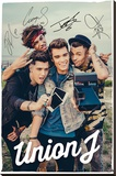 Union J - Selfie Stretched Canvas Print