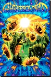 Terrapin Sunflower Stretched Canvas Print