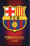 FC Barcelona Club Crest Leinwand