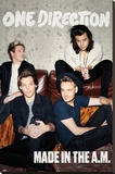 One Direction- Made In The A.M. Reprodukce na plátně