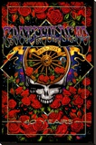 Grateful Dead 40th Anniversary Stretched Canvas Print