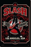 Slash- 100 Proof Los Angeles Sträckt kanvastryck