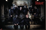 Slipknot - Band Line Up Stretched Canvas Print