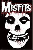 Misfits (Skull, Splatter) Music Poster Print Reprodukce na plátně