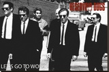 Reservoir Dogs - Lets Go Stretched Canvas Print