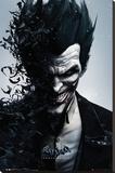 Batman Origins - Joker Bats Lærredstryk på blindramme