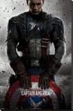 Capitán América (Marvel vintage) Reproducción en lienzo de la lámina