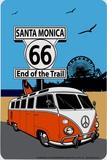 Route 66 Santa Monica - Metal Tabela