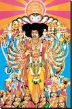 Jimi Hendrix – Axis bold as love Lærredstryk på blindramme