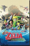Zelda - Windwaker Stretched Canvas Print