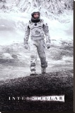 Interstellar - Ice Walk Stretched Canvas Print
