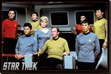 Star Trek- Cast Stretched Canvas Print