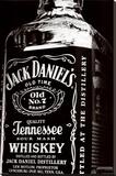 Jack Daniel's Lærredstryk på blindramme