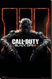Call Of Duty Black Ops 3 Cover Panned Out Lærredstryk på blindramme