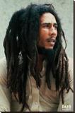 Bob Marley - Pin Up Płótno naciągnięte na blejtram - reprodukcja