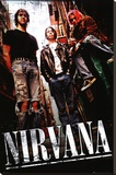 Nirvana - Alley Stretched Canvas Print