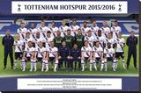 Tottenham- Team 15/16 Lærredstryk på blindramme
