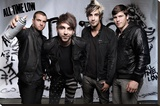 All Time Low - Spray Stretched Canvas Print