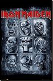 Iron Maiden- Eddies Collection Toile tendue sur châssis