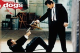 Reservoir Dogs - Guns Stretched Canvas Print