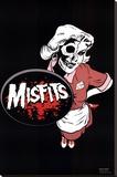 Misfits (Waitress) Music Poster Print Reprodukce na plátně
