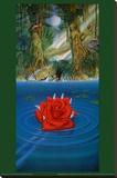 Rainforest Benefit Reproducción en lienzo de la lámina