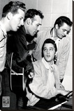 Million Dollar Quartet Stretched Canvas Print