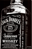 Jack Daniel's Stretched Canvas Print