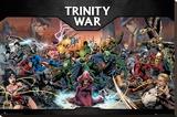 DD Comics- Trinity War Lærredstryk på blindramme