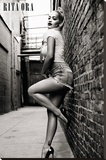 Rita Ora- Seductive Pose Reprodukce na plátně