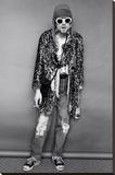 Kurt Cobain Standing Reprodukce na plátně