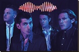 Arctic Monkeys - Group Stretched Canvas Print