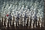 Star Wars- Stormtrooper Army Stretched Canvas Print