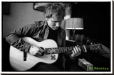 Ed Sheeran - Chord Stretched Canvas Print