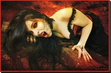Avelina De Moray (Vampires of Rookwood) Art Poster Print Stretched Canvas Print