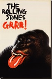 Rolling Stones-Grr Stretched Canvas Print
